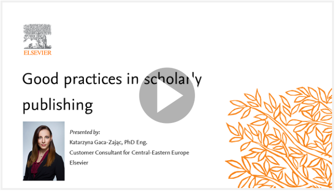 Seminar Two: Good practices in scholarly publishing – August 14th, 11:00 CEST