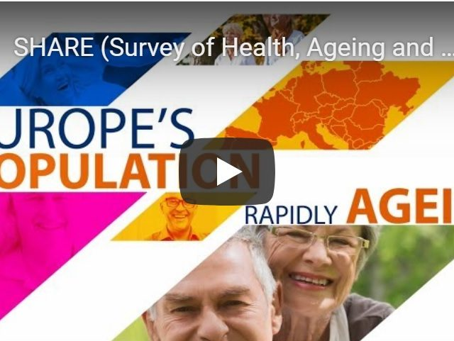 [ВИДЕО] Изследване на здравето, стареенето и пенсионирането - SHARE