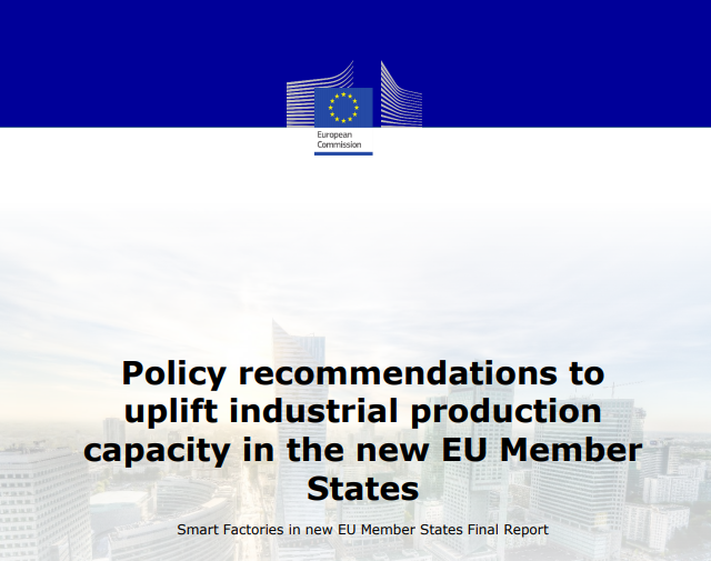 Policy recommendations to uplift industrial production capacity in the new EU Member States