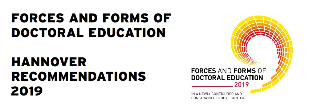 FORCES AND FORMS OF DOCTORAL EDUCATION