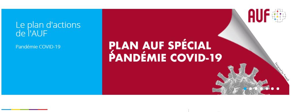 Пандемия Ковид-19 : Университетска Агенция на Франкофонията приема специален план
